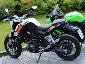 Fuhrpark - Motorrad Fahrschule 1plus, KTM 125 Duke