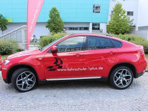 Fuhrpark - Fahrzeuge, Fahrschule 1plus, BMW X6 Seitenansicht